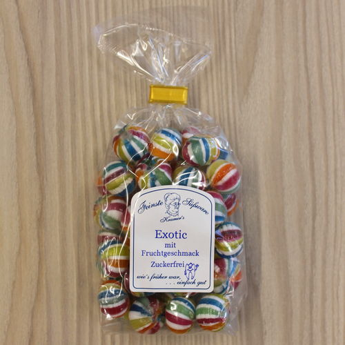 Exotic Bonbons - zuckerfrei